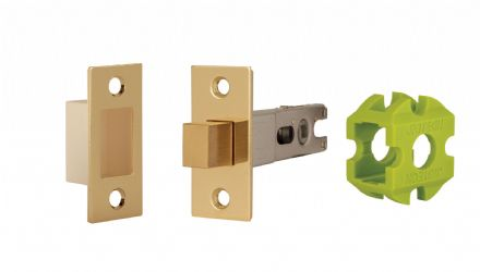 Jigtech JTL4403 Deadbolt 57mm Polished Brass